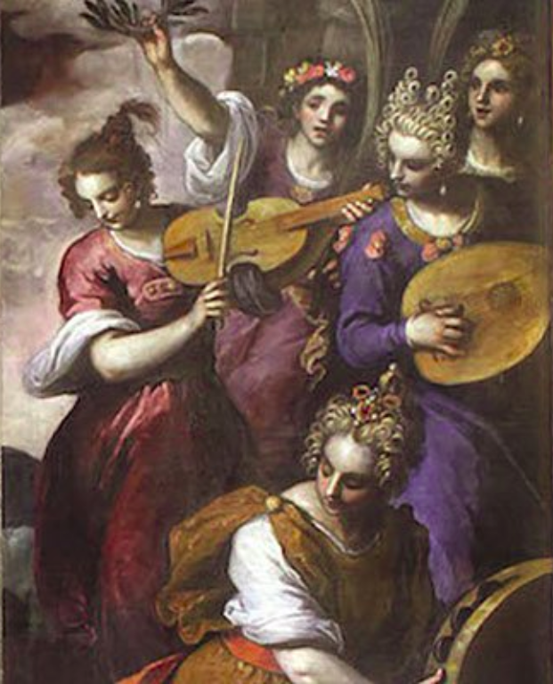 painting by palma il giovanne