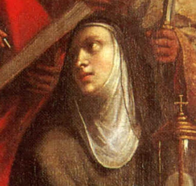 01 picture - San Monika in 'Madona con bambino in gloria e santi''