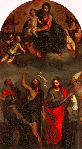 02 picture - 1600 - Madonna col Bambino in gloria e Santi