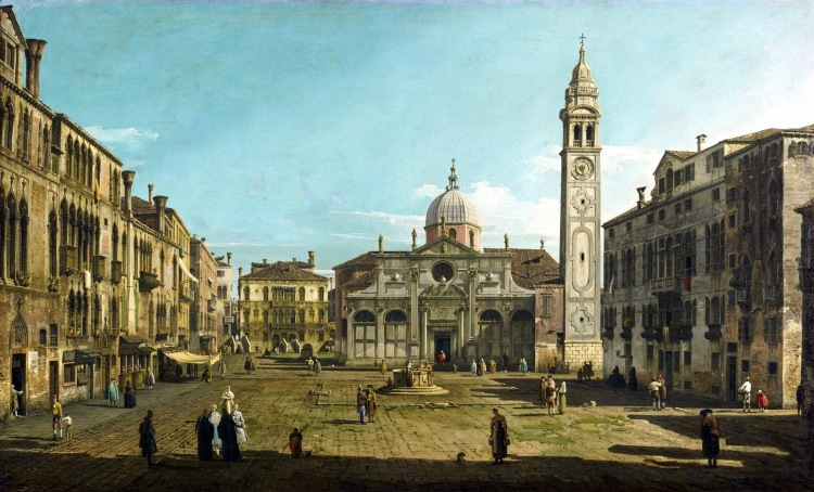 Bellotto - Campo Santa Maria Formosa about 1742