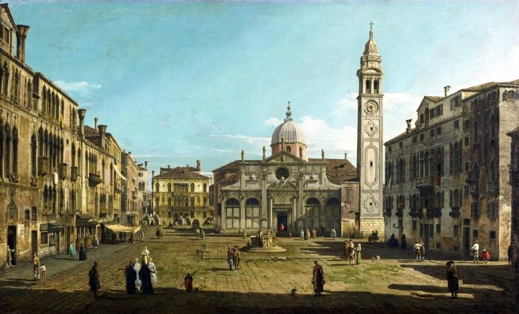Bellotto - Campo Santa Maria Formosa about 1742