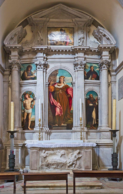 02 picture - painting of Palma's uncle at Santa Maria Formosa