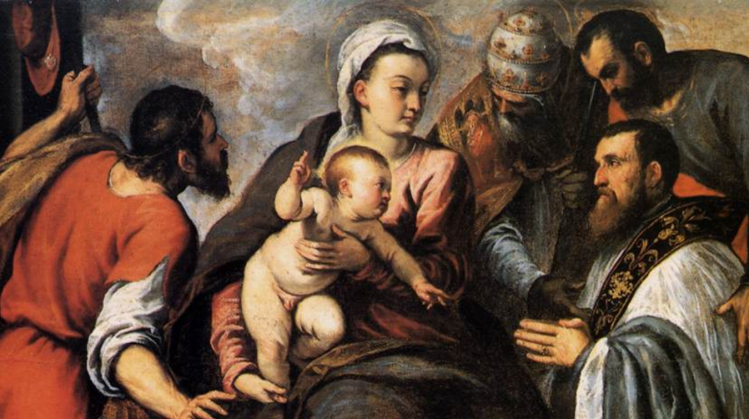 picture 2 - artwork by Palma il Giovane 'Virgin with child and Saints'.png