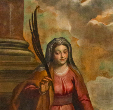 picture 8 - Palmina inspired Palma to paint Saint Lucy