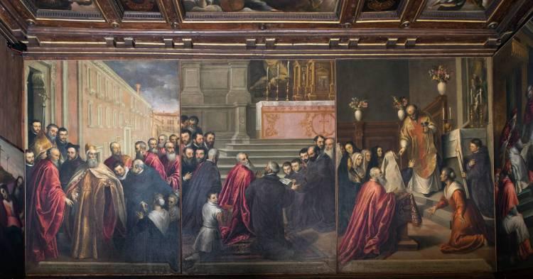 picture - Palma il Giovane, ORATORIO DEI CROCIFERI - Venice