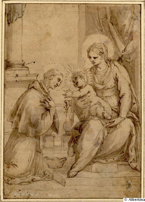 picture 01 - Saint Carolus borromäus painting by Palma il Giovane