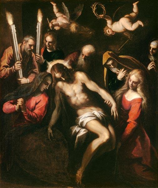 picture - La Pieta by Palma il Giovane (See also »Lacrimosa« by Gerald Spitzner