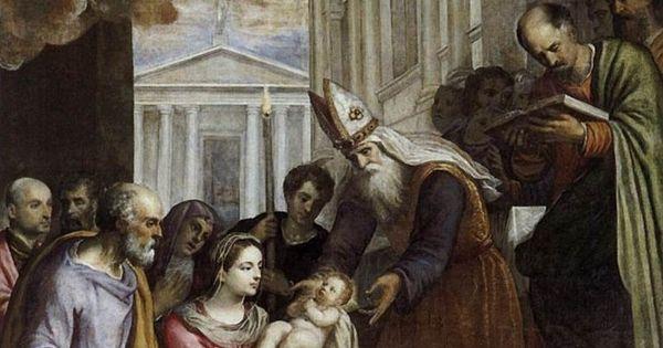 picture 12- detail - »Presentation of Jesus in Temple« by Palma il Giovanne (Isola Giorgia Maggiore, Venice )