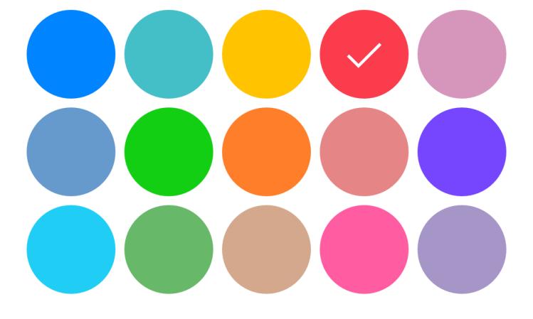 picture 2 - colour palette of Palma il Giovane