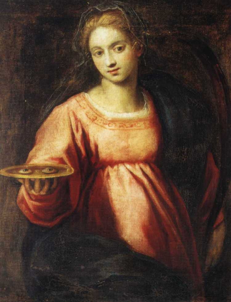 picture 3 - painting of »Santa Lucia« by Palma il Giovanne