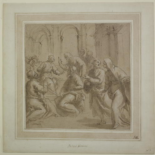 picure 4 - drawing by Palma il Giovane