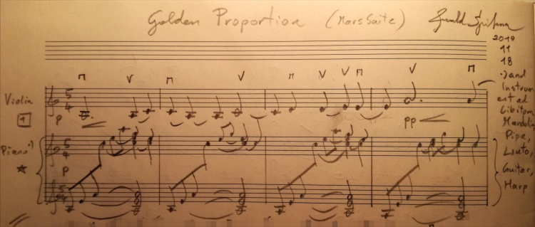01 - »Golden Proportion« (Mars-Suite) Violin+Piano +ad lib (Madn Pipa Guitar Liuto Harp etc).jpg