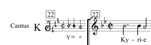 01 picture - transcription into modern music notation