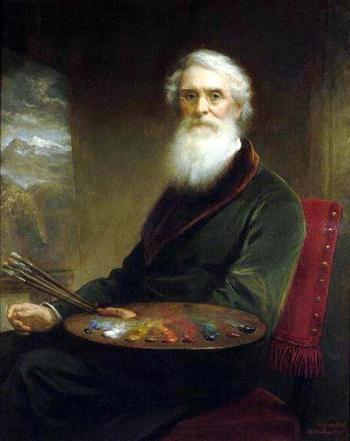 04 picture - self portrait of Samuel Morse