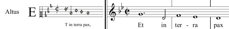 07 picture - transcription into modern music notation