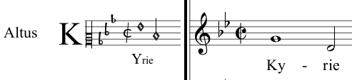 11 picture - transcription into modern music notation