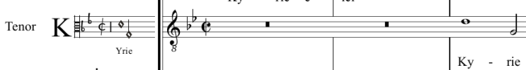12 picture - transcription into modern music notation