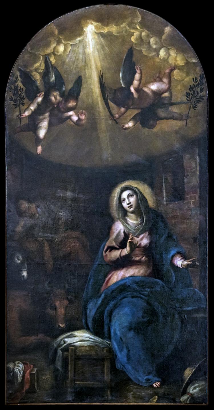 01 picture - Palma's  painting inspiration - L'Aspettazione del parto di Maria Vergine by Palma il Giovane.jpg