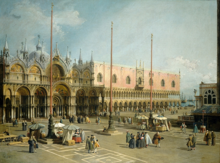 10 - Giovanni_Antonio_Canal_-_Piazza_San_Marco_-_National_Gallery_of_Art_Washington.jpg