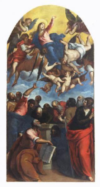 picture - (1610-20) »Assunta« - Museo civico di Crema e del Cremasco by Palma il Giovane.jpg