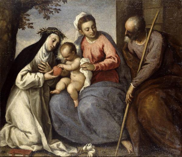 picture - 1615-20 Sacra Famiglia con Santa Caterina da Siena by Palma il Giovane.jpg