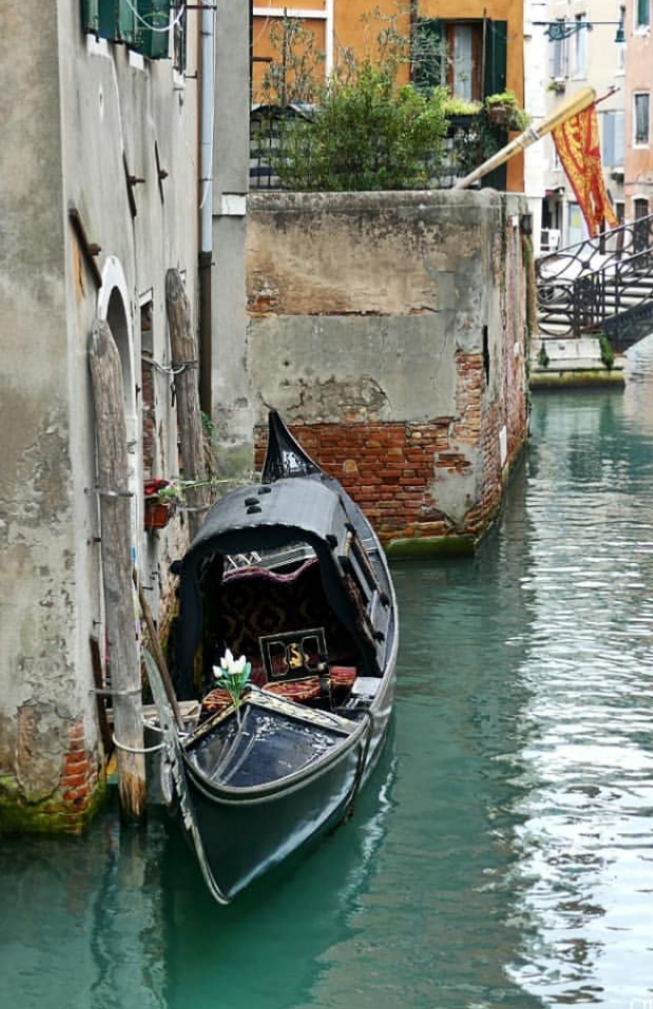 picture 3  - A covered Gondola in Venice (this and similar types of Gondolas had been used very often in the 16th century).png