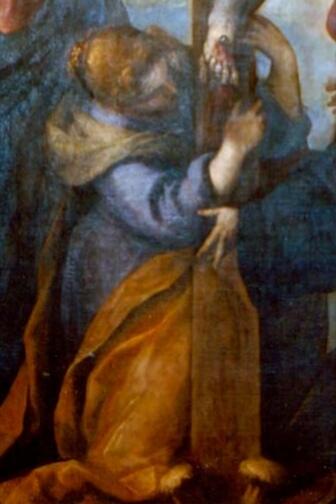 Palma Il Giovane, La Crocifissione, 1595, olio su tela. Foto Luigi Anzalone.
