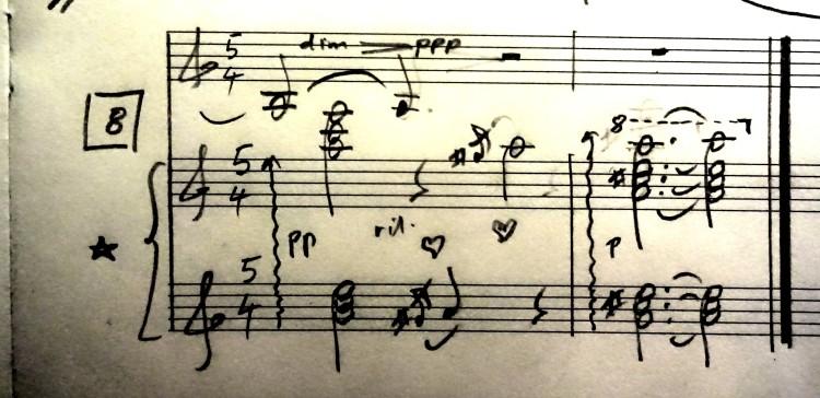 08 [95c] Music score of Violin and Piano 95c DSC00825