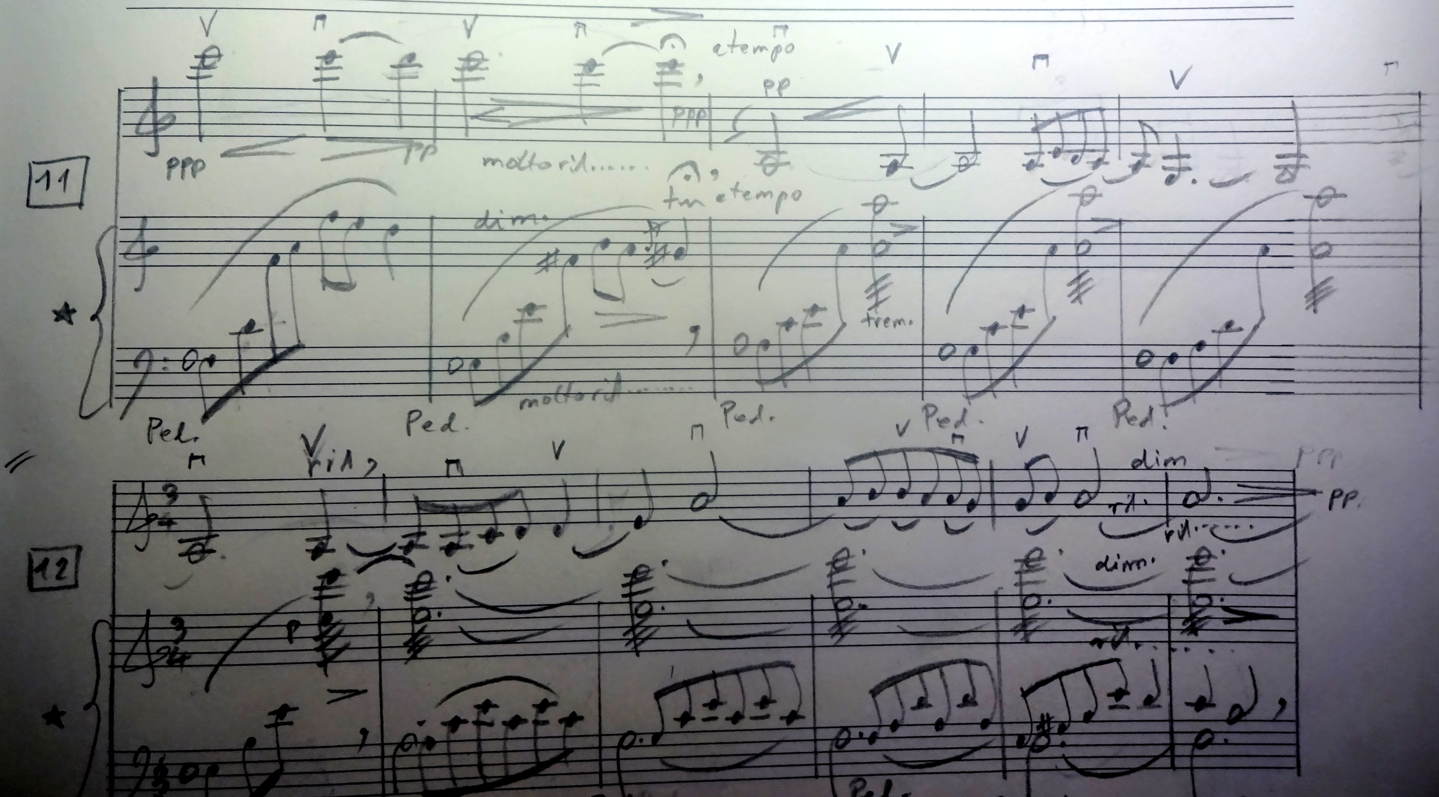 6 (96d) Violin and Piano Himmelsrose - Celestial Rose by Gerald Spitzner