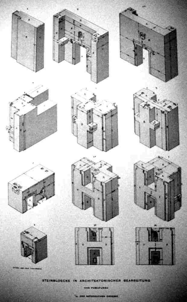 16 [picture] prehistoric H-Blocks Diorith