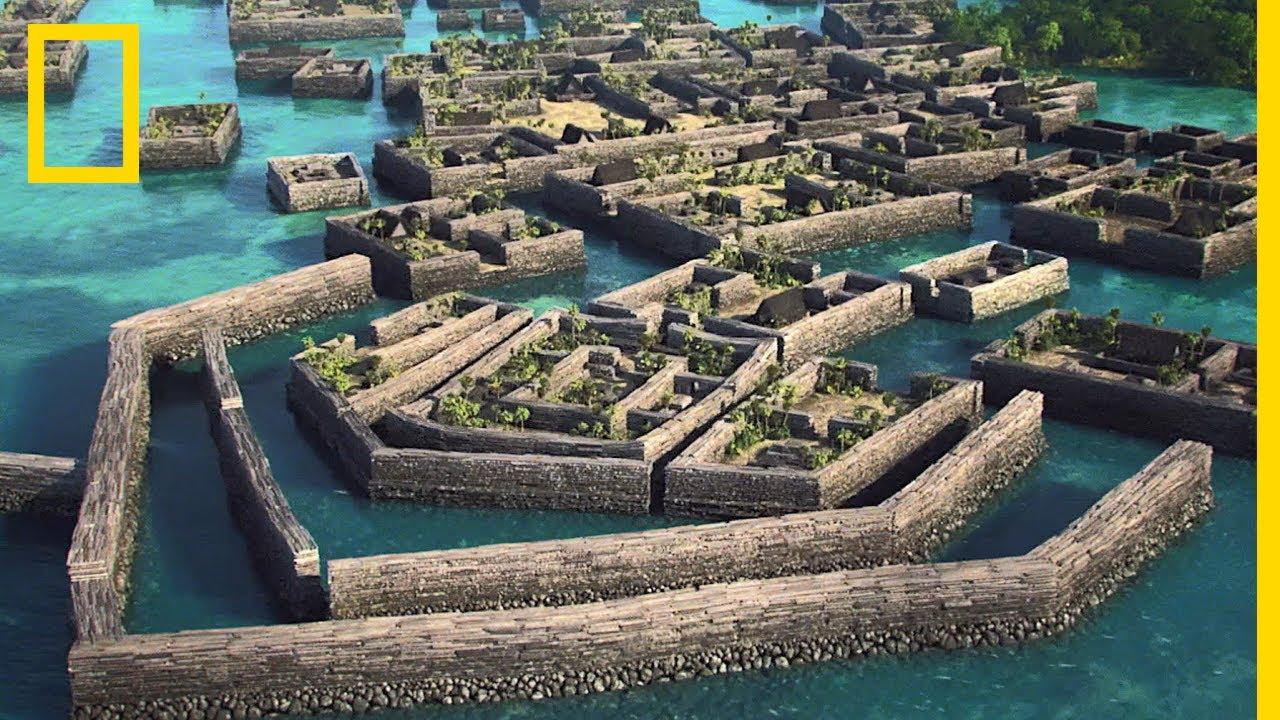 24 [picture] Nan Madol - Prehistoric City at Micronesia (Pacific)